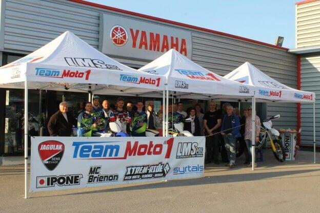 Tentes Pliantes Team Moto 1